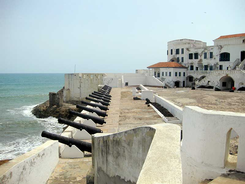 Cape Coast Castle is one of the top things to do in Ghana.