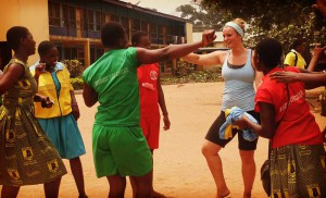 volunteer ghana sports education