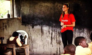 ghana teaching english volunteer