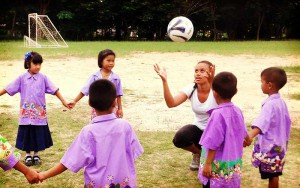 thailand sports education volunteer