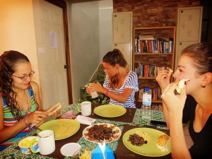 volunteer costa rica dorm breakfast