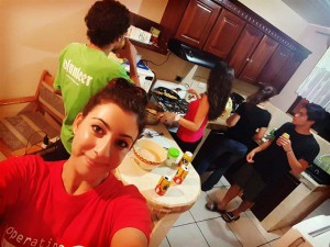volunteer costa rica dorm cook night