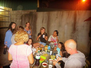 volunteer costa rica dorm bbq