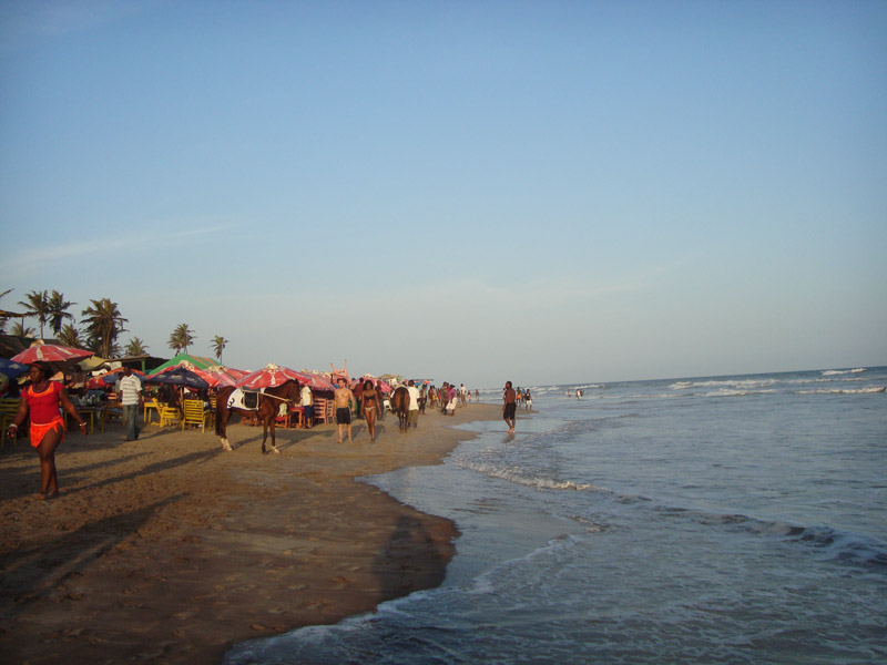 Labadi Beach is one of the top things to do in Ghana