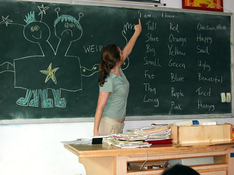 You Ll Gain Actual Clroom Experience When Volunteer To Teach In English
